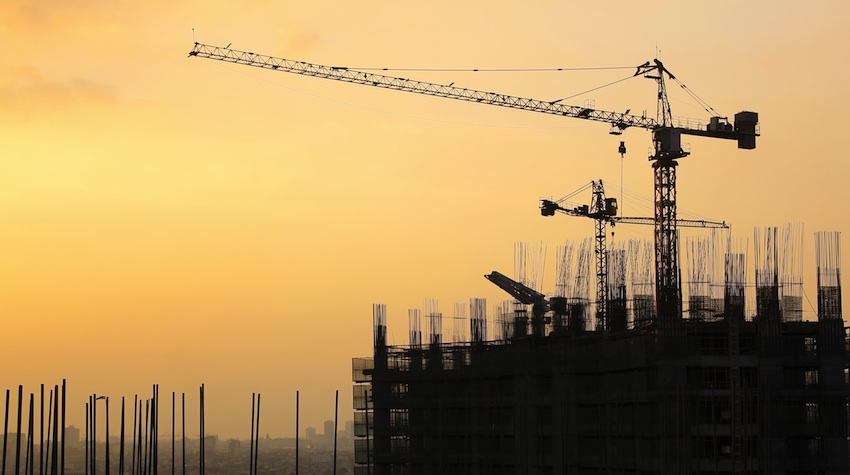 Construction Cranes in Manila