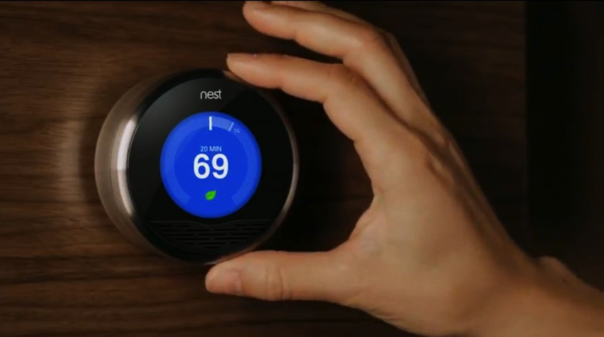 So you want a fully automated home zipmatch - Nest thermostat stylish home temperature control ...