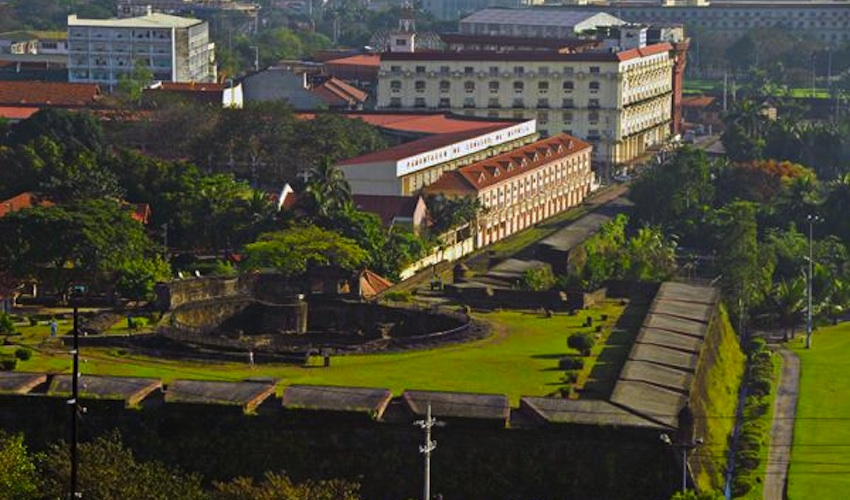 Manila's old walled city of Intramuros