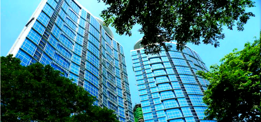 Pacific Plaza Towers in BGC